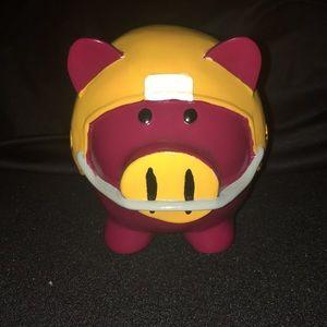 NFL Redskins Collectible Hog Piggy Bank